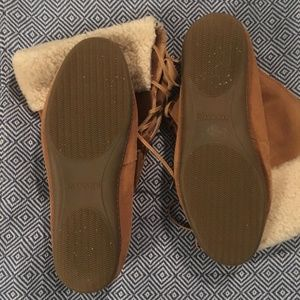 Sperry Shoes - Sperry Top-Sider Moccasin Suede Boots